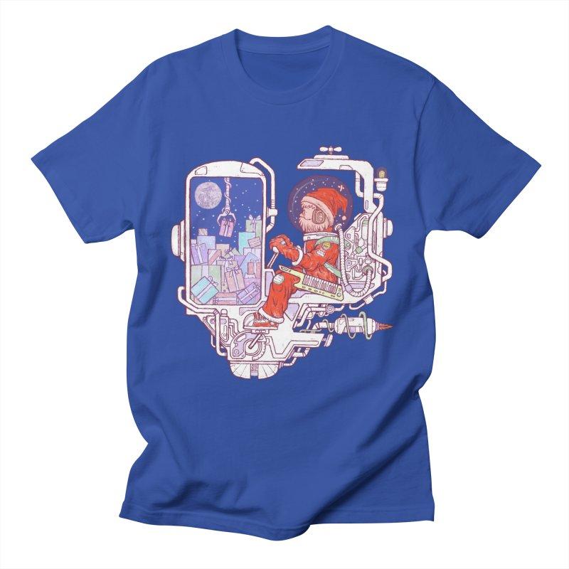 Santa space suits Men's T-Shirt by makapa's Artist Shop