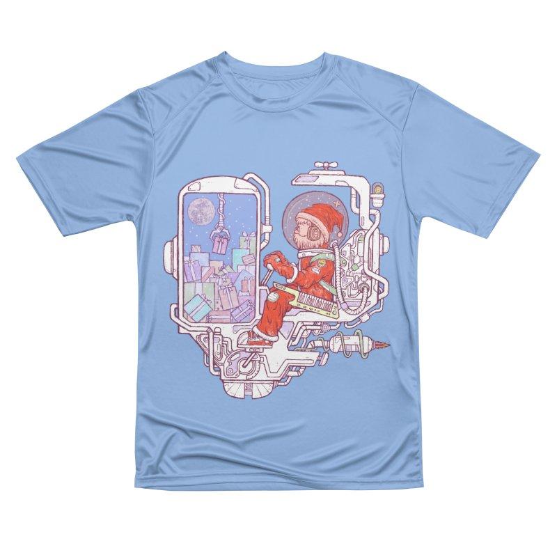 Santa space suits Women's Performance Unisex T-Shirt by makapa's Artist Shop