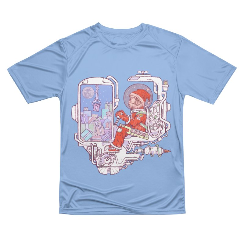 Santa space suits Men's Performance T-Shirt by makapa's Artist Shop