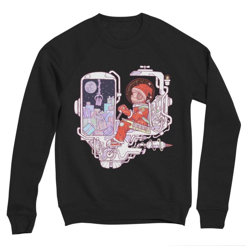 Santa space suits Women's Sponge Fleece Sweatshirt by makapa's Artist Shop