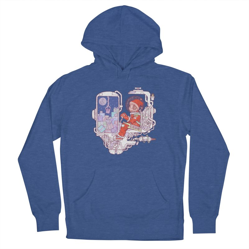 Santa space suits Men's Pullover Hoody by makapa's Artist Shop