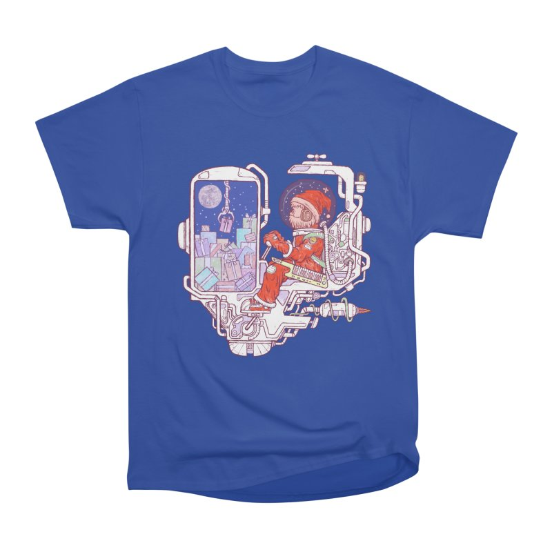 Santa space suits Men's Heavyweight T-Shirt by makapa's Artist Shop