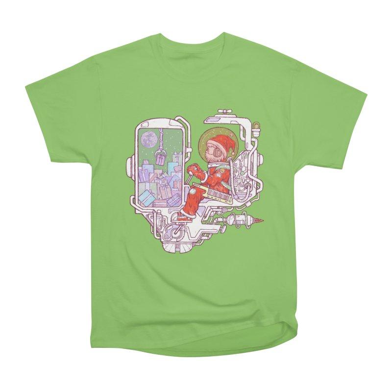 Santa space suits Women's Heavyweight Unisex T-Shirt by makapa's Artist Shop