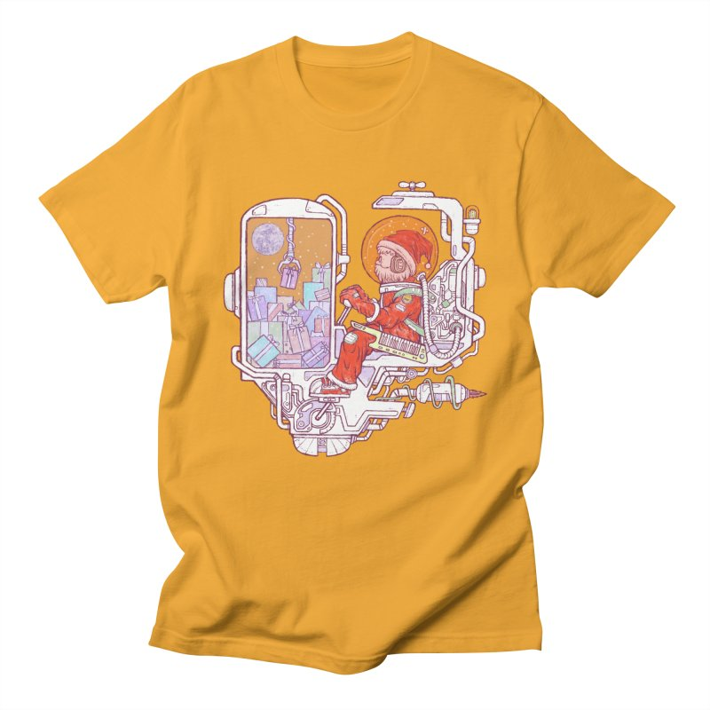 Santa space suits Women's Regular Unisex T-Shirt by makapa's Artist Shop