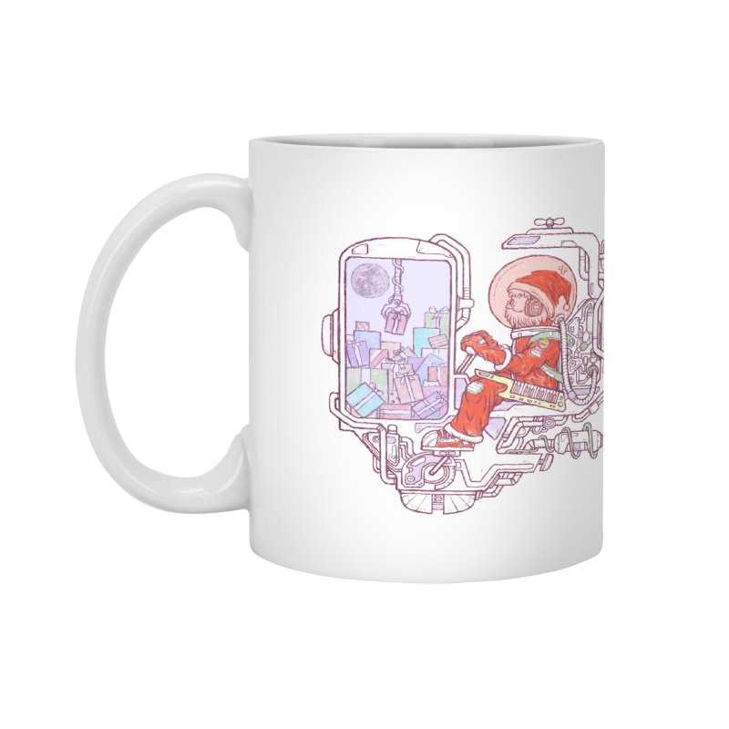 Santa space suits Accessories Mug by makapa's Artist Shop