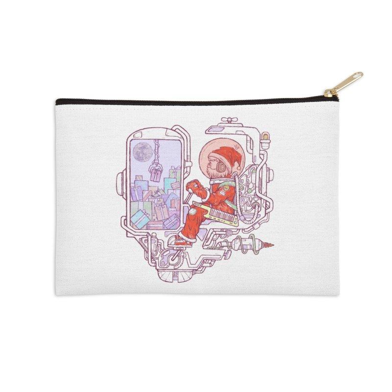 Santa space suits Accessories Zip Pouch by makapa's Artist Shop