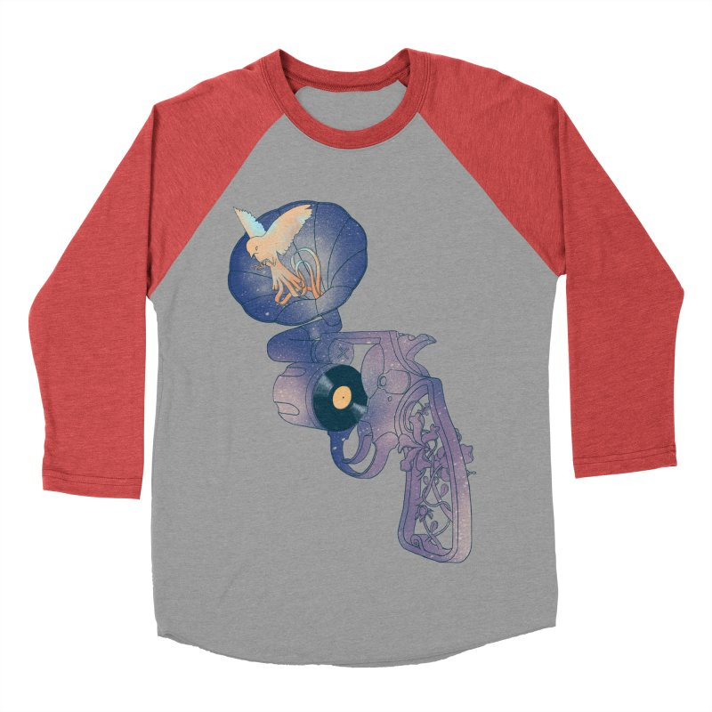gun of citizen Women's Baseball Triblend T-Shirt by makapa's Artist Shop