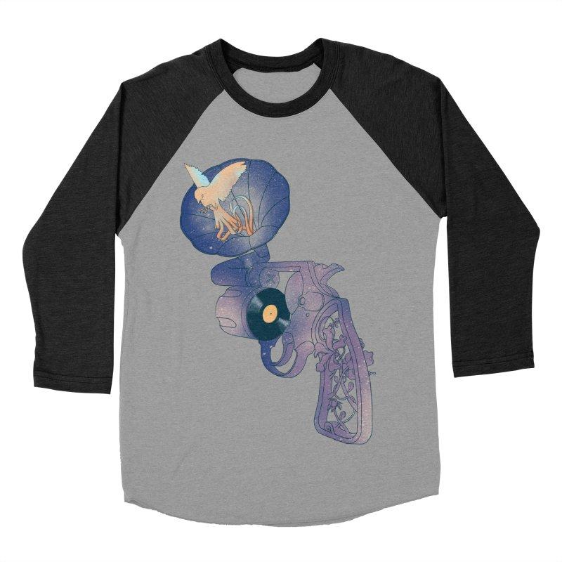 gun of citizen Women's Baseball Triblend Longsleeve T-Shirt by makapa's Artist Shop