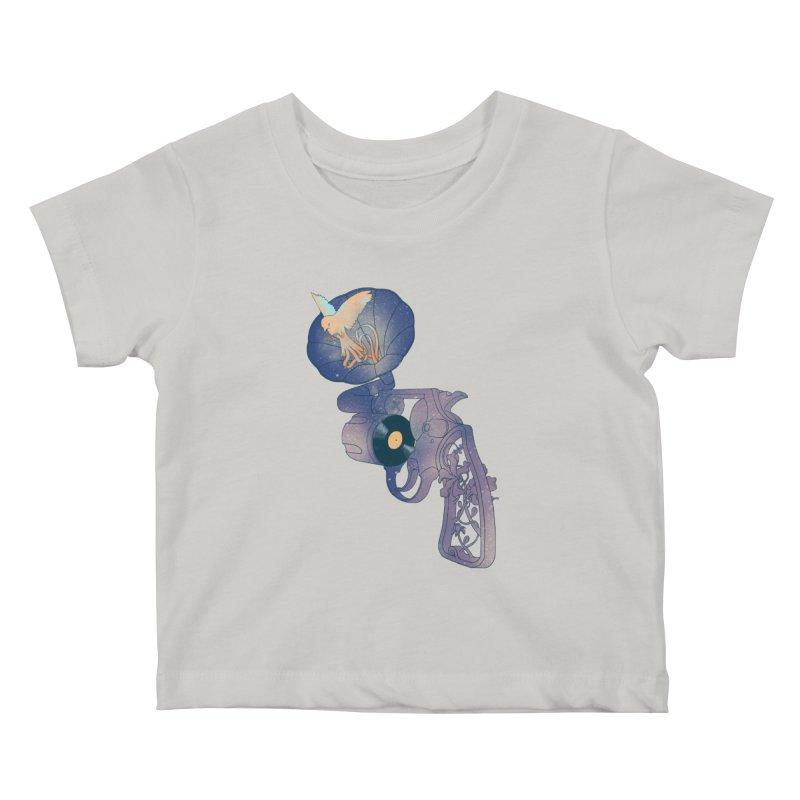 gun of citizen Kids Baby T-Shirt by makapa's Artist Shop