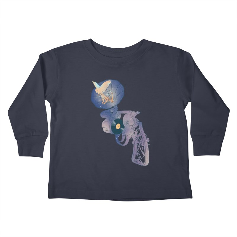 gun of citizen Kids Toddler Longsleeve T-Shirt by makapa's Artist Shop