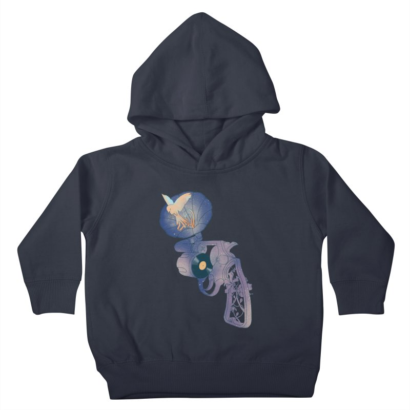 gun of citizen Kids Toddler Pullover Hoody by makapa's Artist Shop