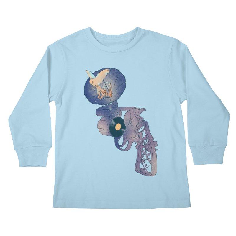 gun of citizen Kids Longsleeve T-Shirt by makapa's Artist Shop