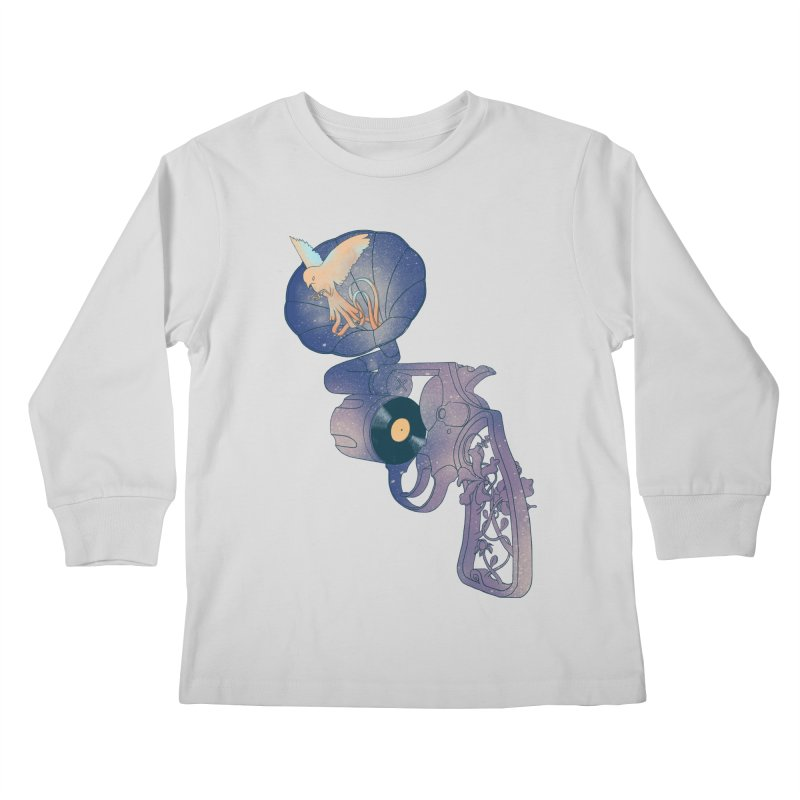 gun of citizen Kids Longsleeve T-Shirt by makapa's Artist Shop