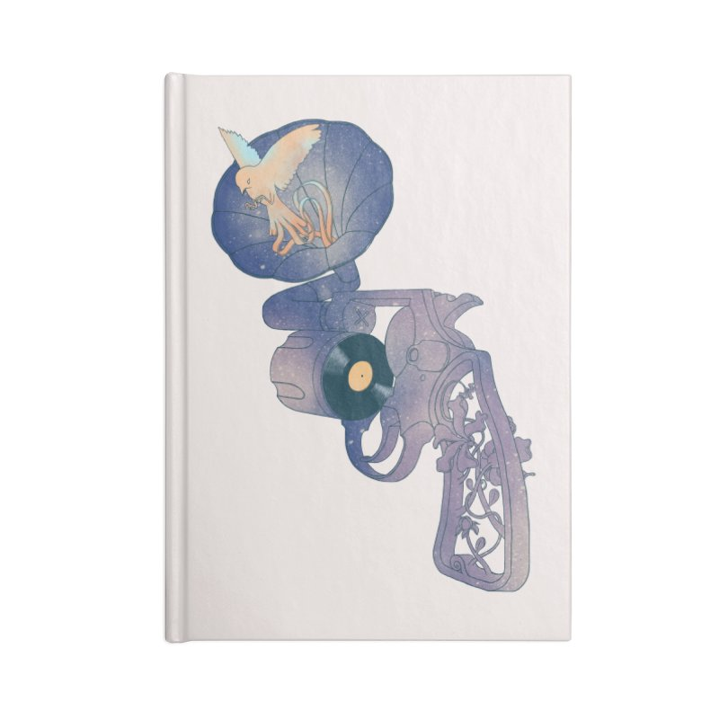 gun of citizen Accessories Notebook by makapa's Artist Shop