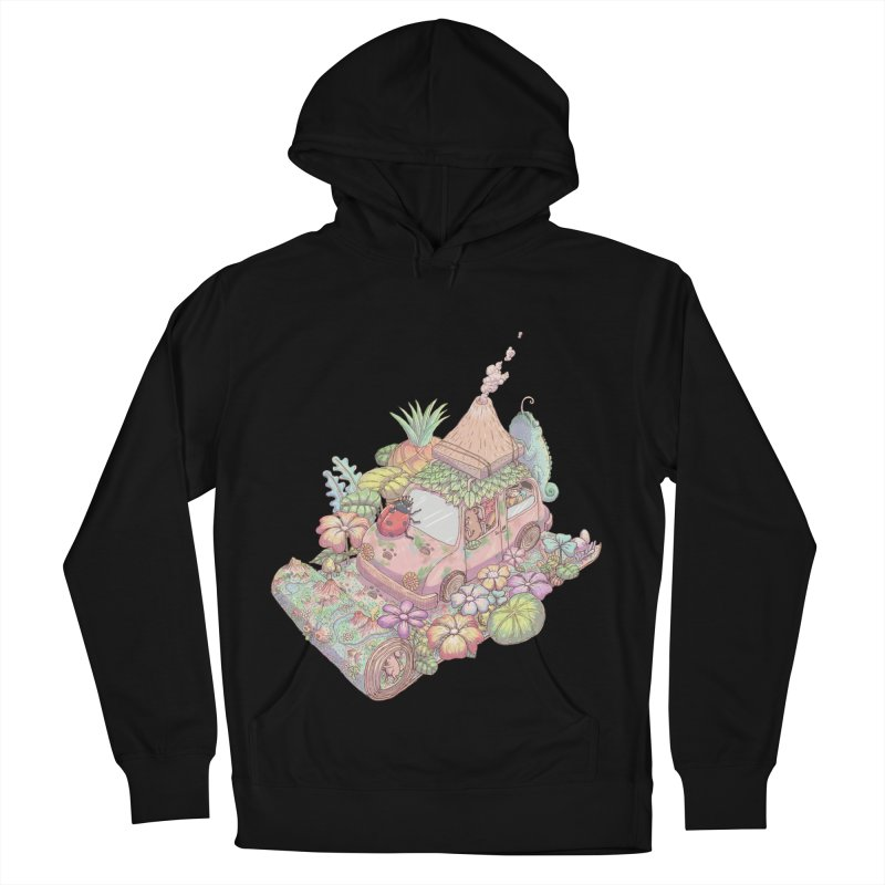 i love adventure Men's French Terry Pullover Hoody by makapa's Artist Shop