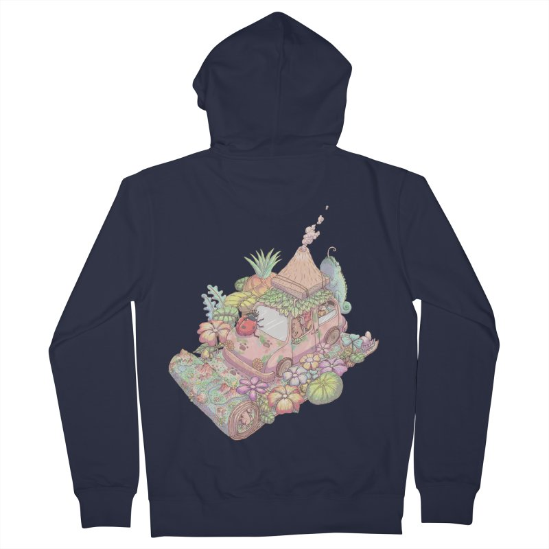 i love adventure Men's Zip-Up Hoody by makapa's Artist Shop