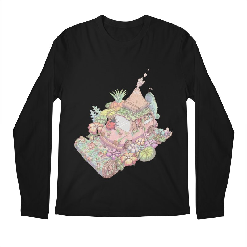 i love adventure Men's Longsleeve T-Shirt by makapa's Artist Shop