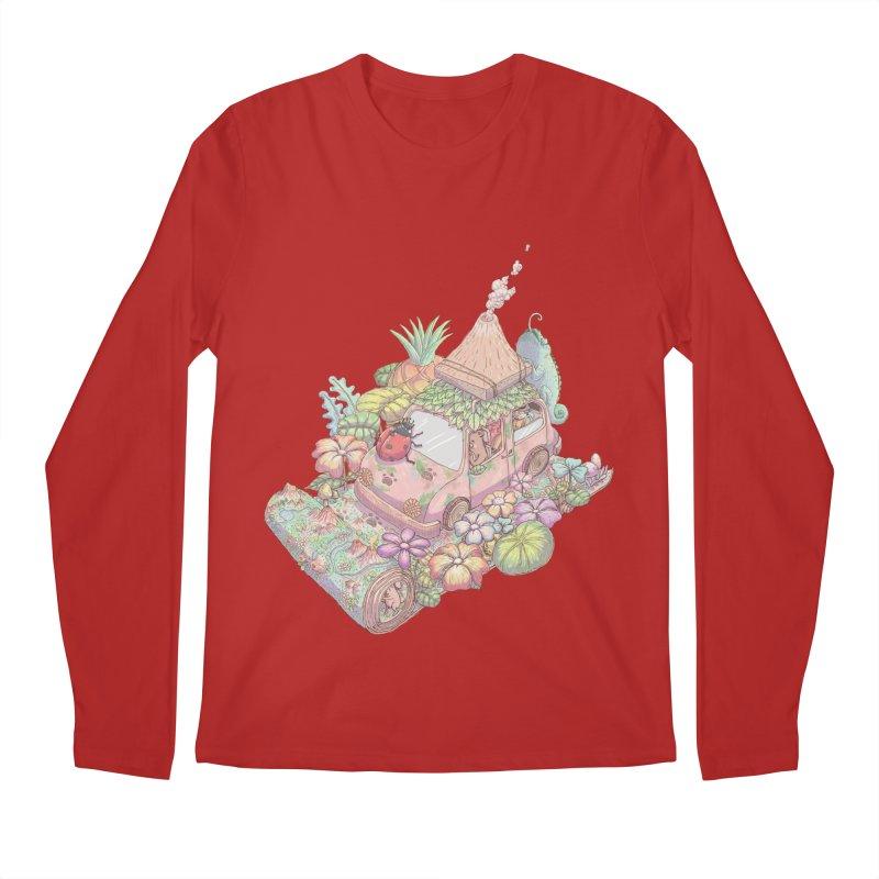 i love adventure Men's Longsleeve T-Shirt by makapa's Artist Shop