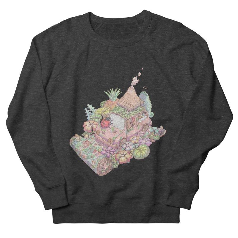 i love adventure Men's French Terry Sweatshirt by makapa's Artist Shop