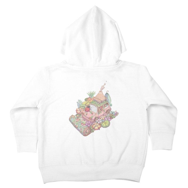 i love adventure Kids Toddler Zip-Up Hoody by makapa's Artist Shop