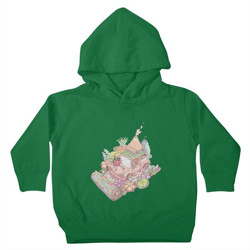 i love adventure Kids Toddler Pullover Hoody by makapa's Artist Shop