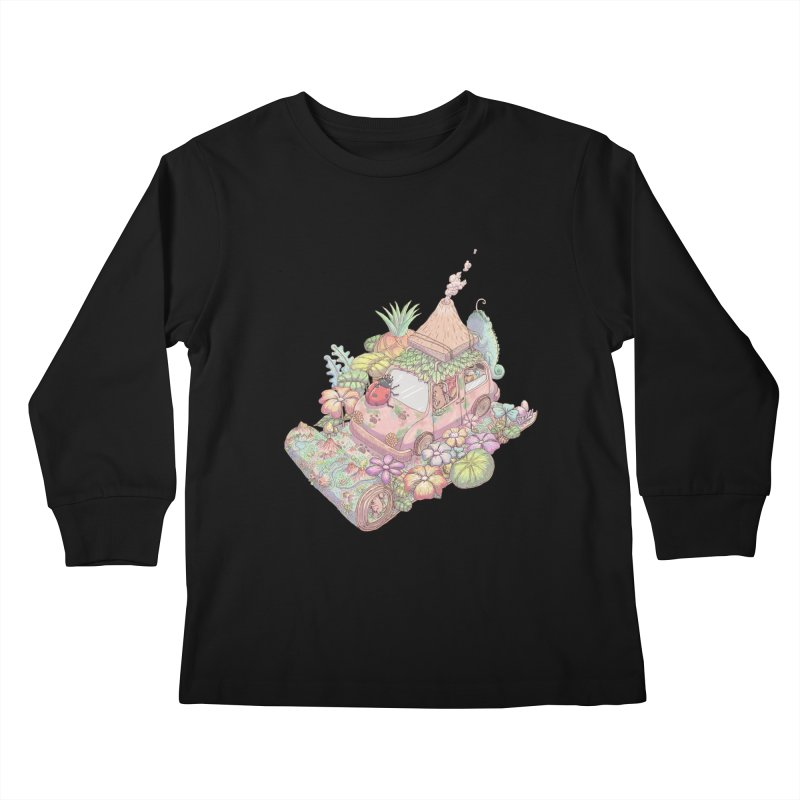 i love adventure Kids Longsleeve T-Shirt by makapa's Artist Shop
