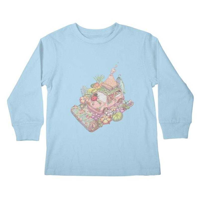 i love adventure Kids Longsleeve T-Shirt by makapa's Artist Shop