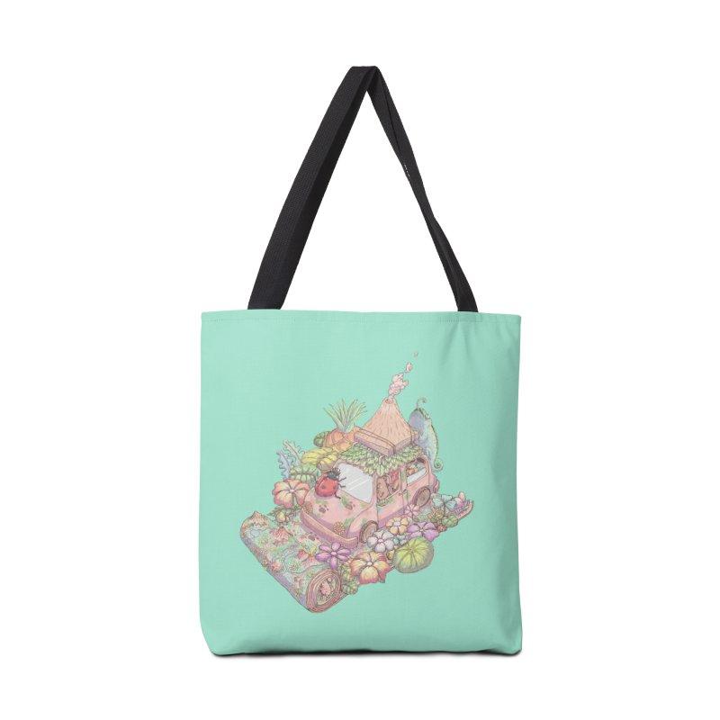 i love adventure Accessories Bag by makapa's Artist Shop