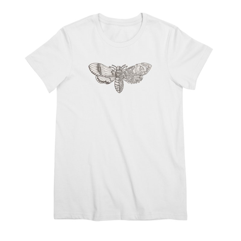 death head moth sci-fi Women's Premium T-Shirt by makapa's Artist Shop