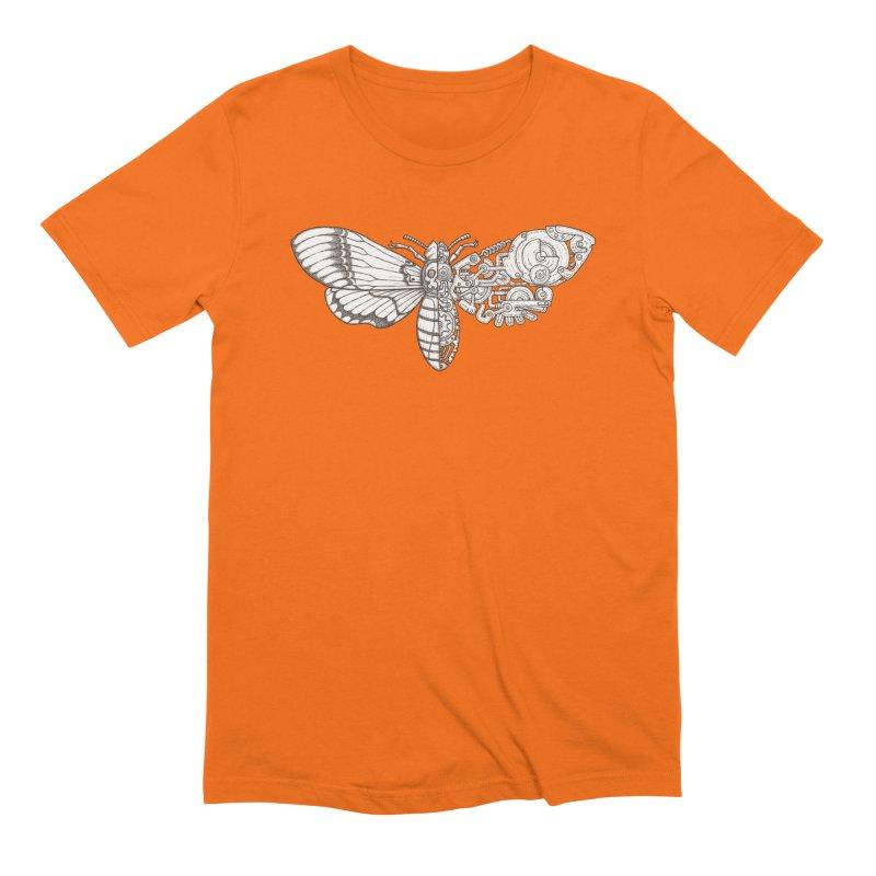 death head moth sci-fi Men's Extra Soft T-Shirt by makapa's Artist Shop