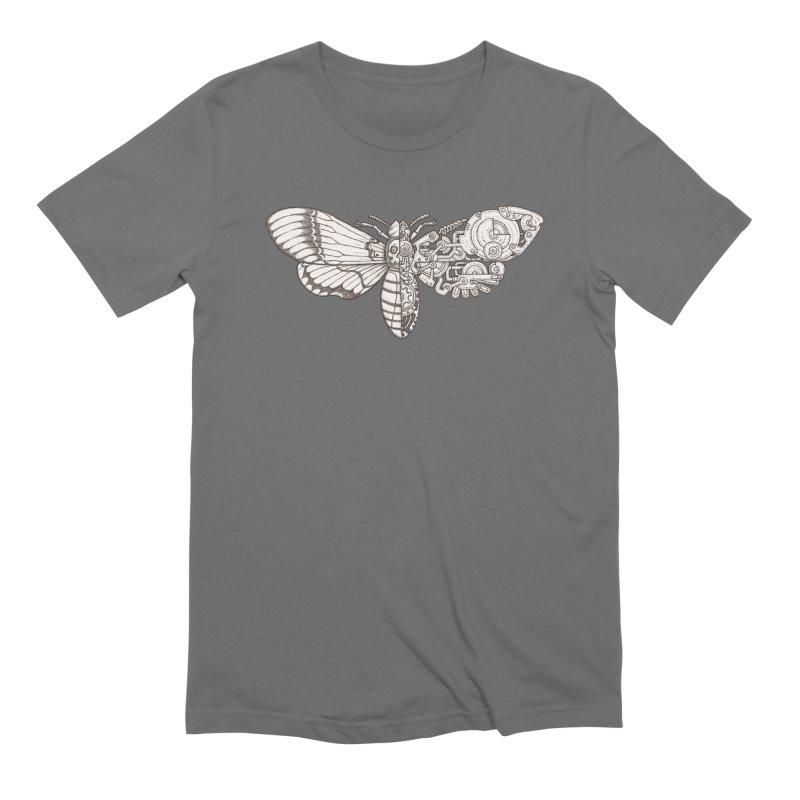 death head moth sci-fi Men's T-Shirt by makapa's Artist Shop