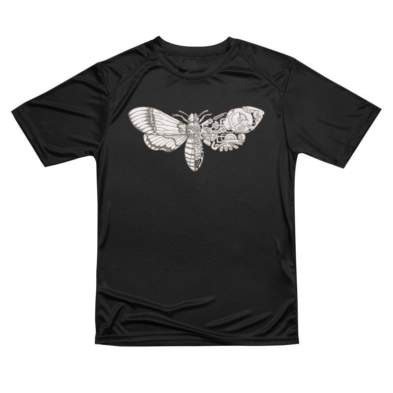 death head moth sci-fi Men's Performance T-Shirt by makapa's Artist Shop