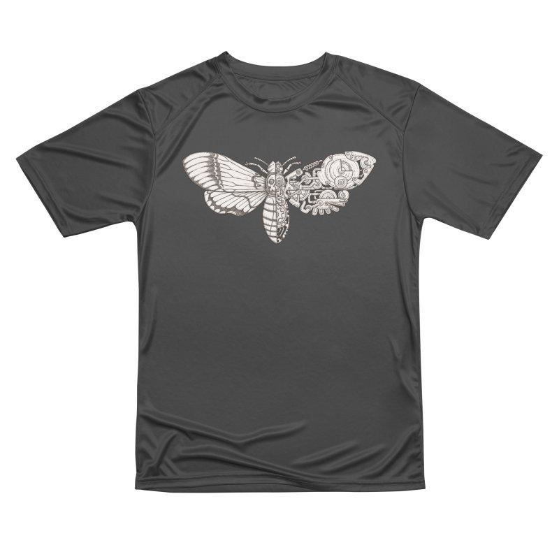 death head moth sci-fi Women's Performance Unisex T-Shirt by makapa's Artist Shop