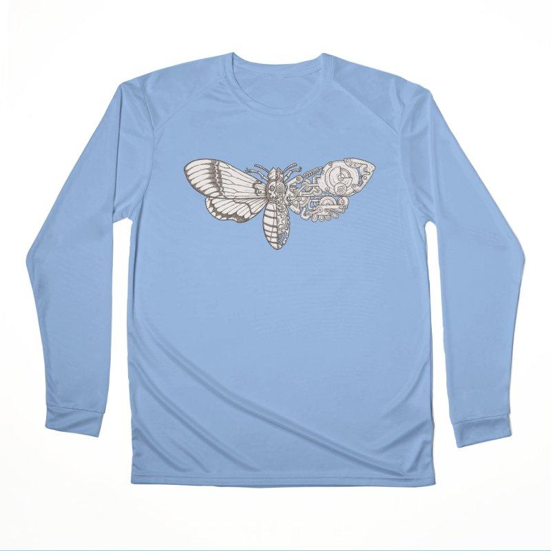 death head moth sci-fi Women's Longsleeve T-Shirt by makapa's Artist Shop