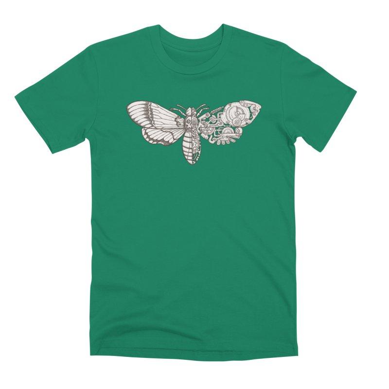 death head moth sci-fi Men's Premium T-Shirt by makapa's Artist Shop