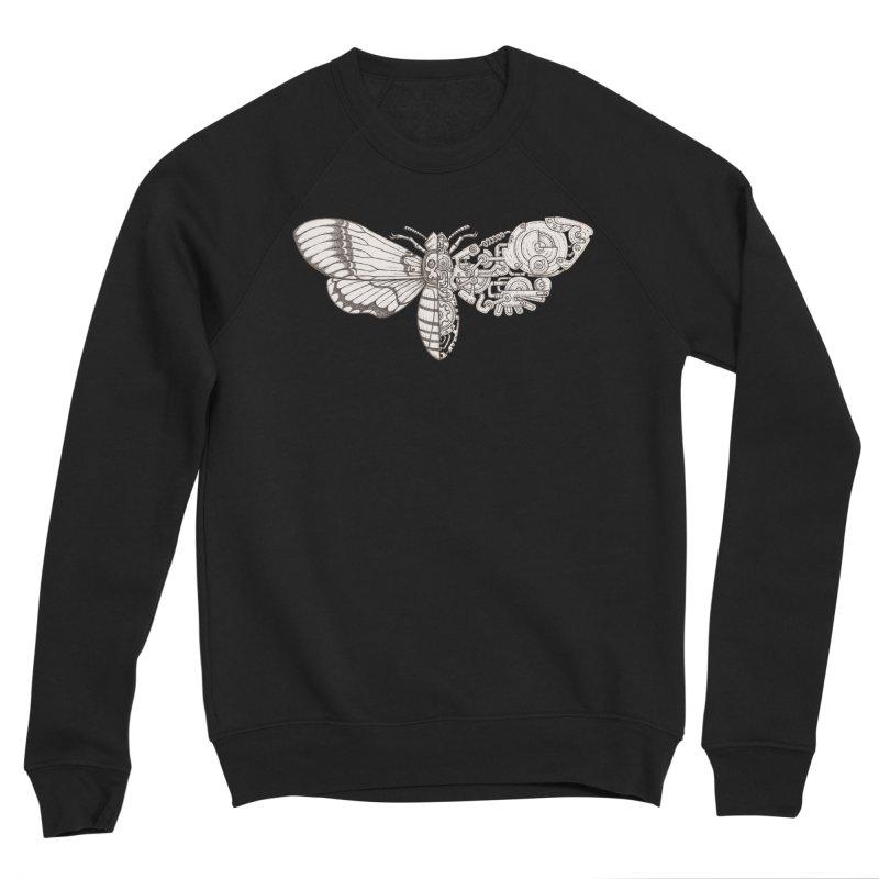 death head moth sci-fi Women's Sponge Fleece Sweatshirt by makapa's Artist Shop