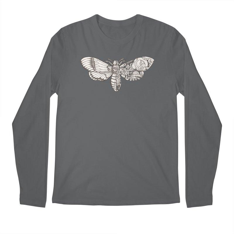 death head moth sci-fi Men's Longsleeve T-Shirt by makapa's Artist Shop