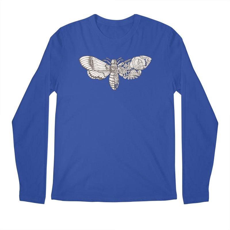 death head moth sci-fi Men's Regular Longsleeve T-Shirt by makapa's Artist Shop