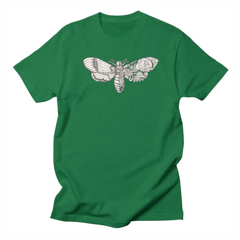 death head moth sci-fi Men's Regular T-Shirt by makapa's Artist Shop