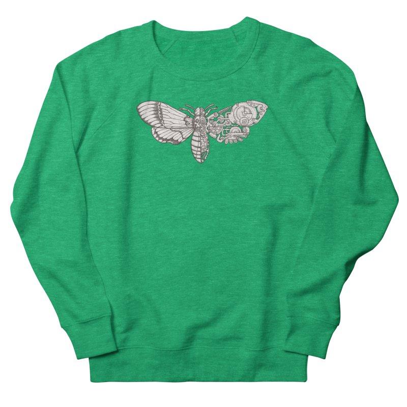 death head moth sci-fi Women's Sweatshirt by makapa's Artist Shop