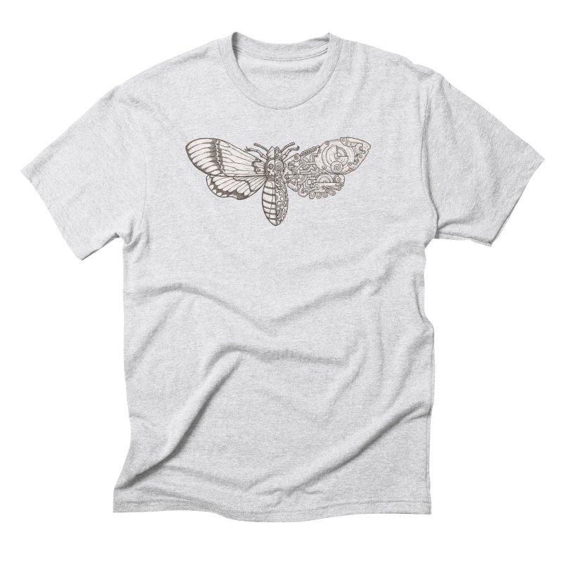 death head moth sci-fi Men's Triblend T-Shirt by makapa's Artist Shop