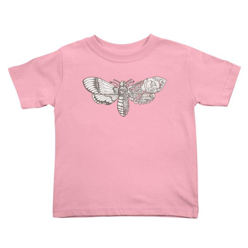 death head moth sci-fi Kids Toddler T-Shirt by makapa's Artist Shop