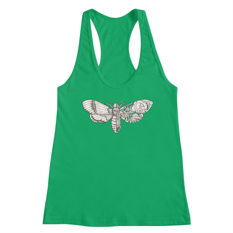 death head moth sci-fi Women's Tank by makapa's Artist Shop