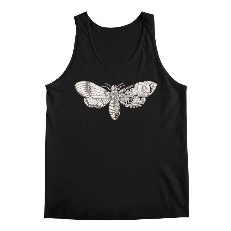 death head moth sci-fi Men's Regular Tank by makapa's Artist Shop