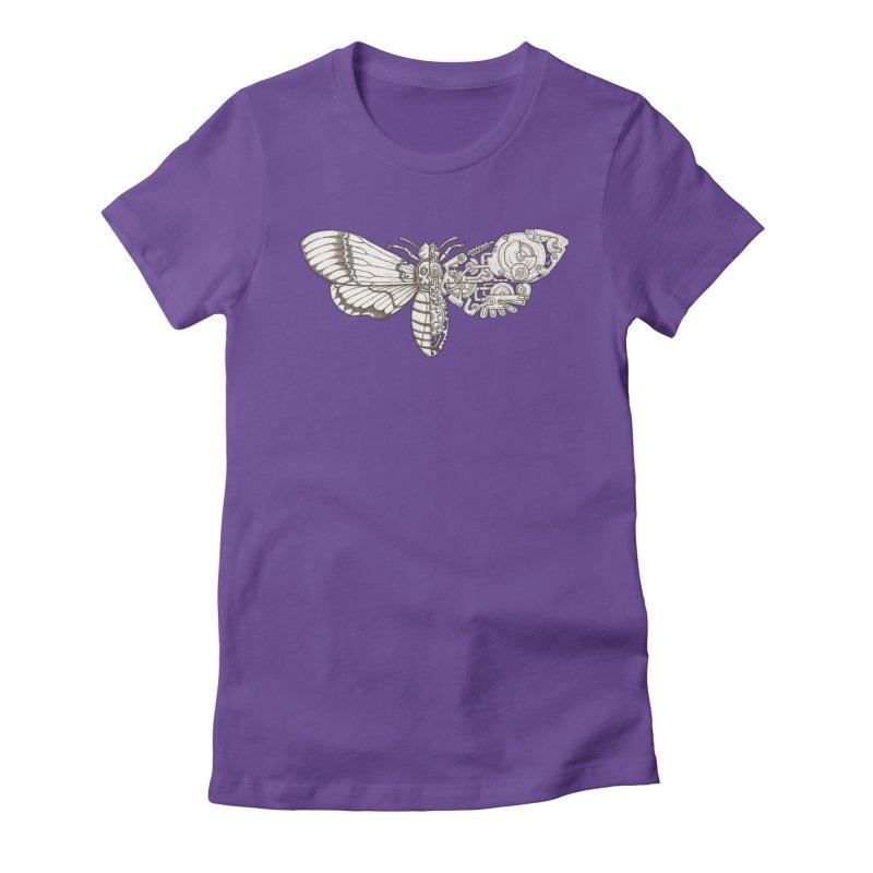 death head moth sci-fi Women's T-Shirt by makapa's Artist Shop