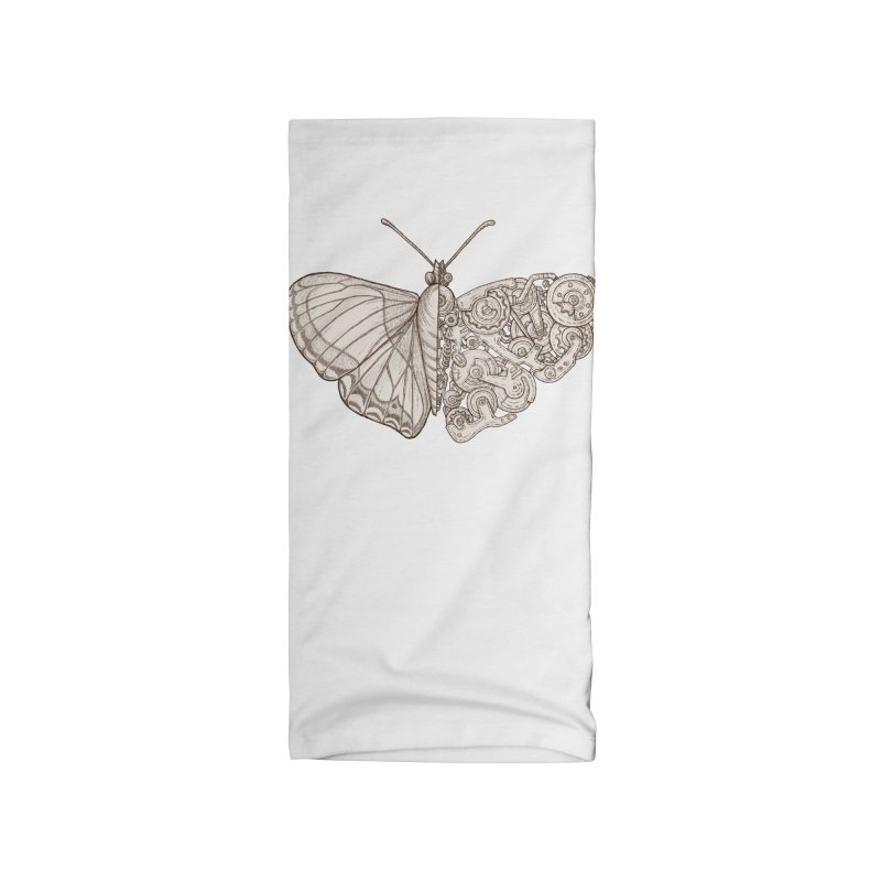 butterfly sci-fi Accessories Neck Gaiter by makapa's Artist Shop