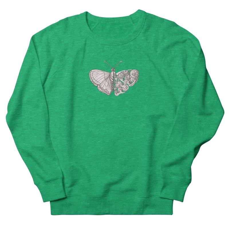 butterfly sci-fi Women's Sweatshirt by makapa's Artist Shop