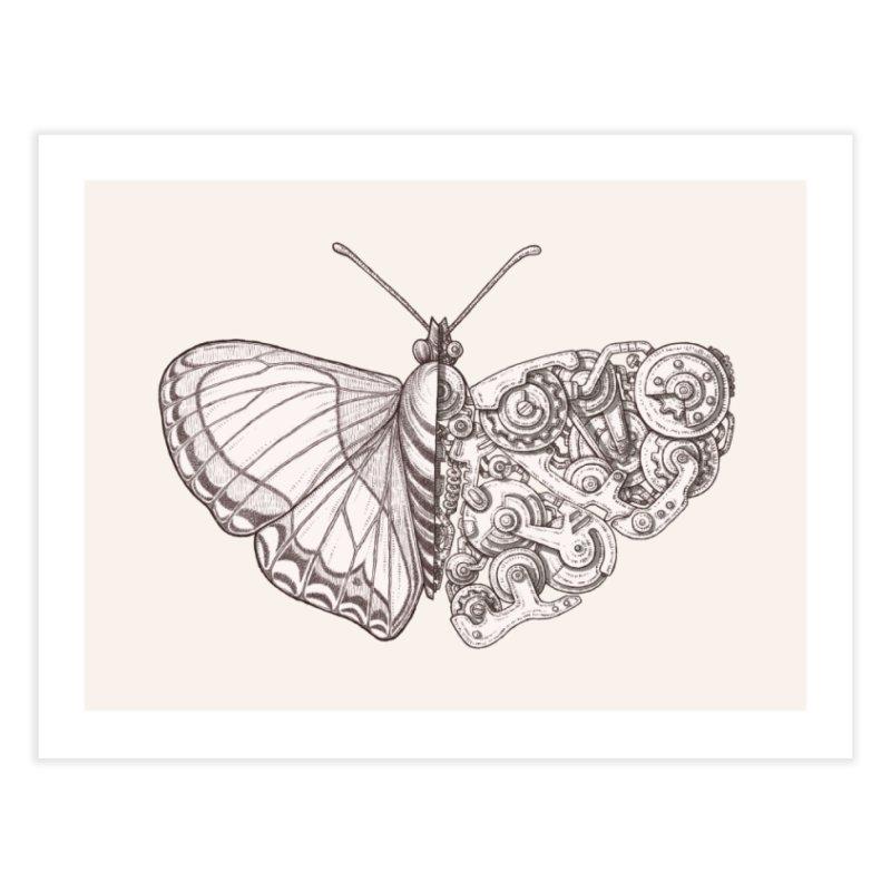 butterfly sci-fi Home Fine Art Print by makapa's Artist Shop