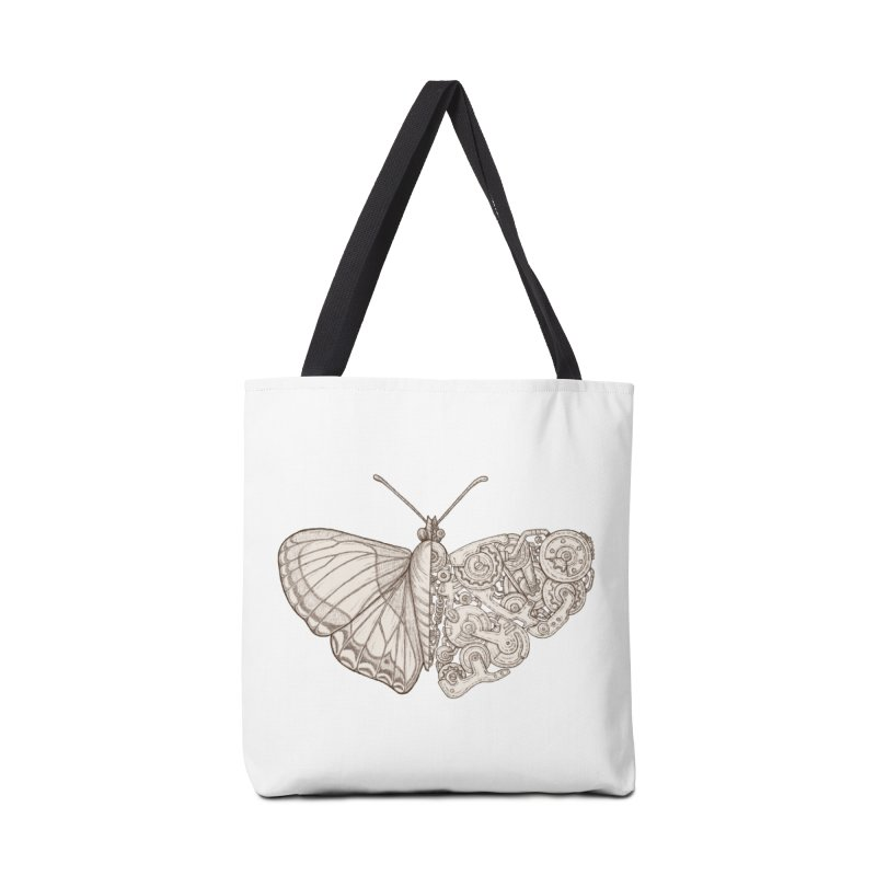 butterfly sci-fi Accessories Tote Bag Bag by makapa's Artist Shop