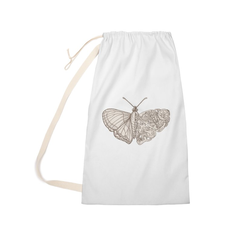 butterfly sci-fi Accessories Laundry Bag Bag by makapa's Artist Shop